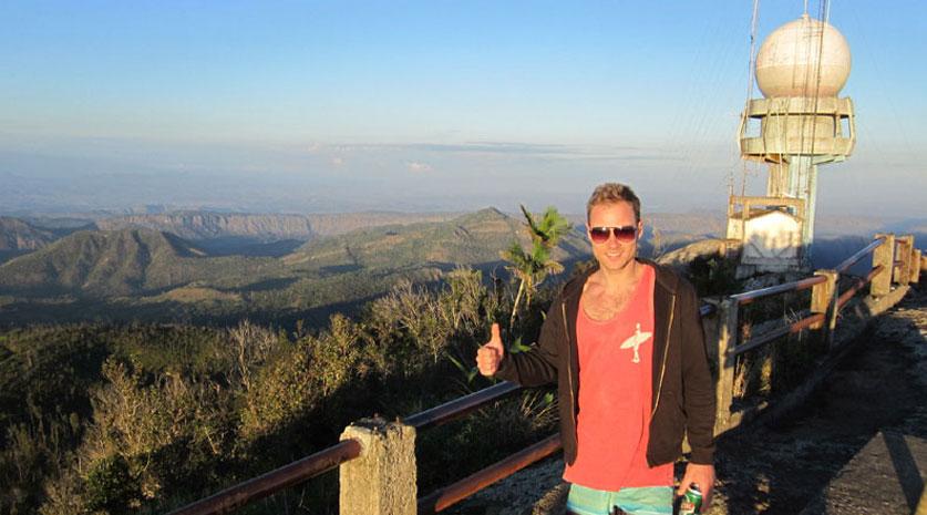Berggipfel am Grand Piedra