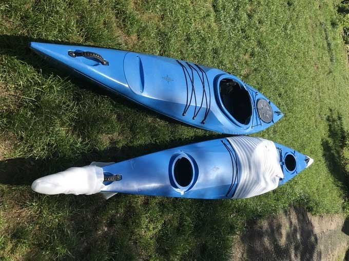 1er kayak rental with control