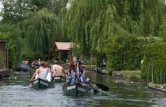 Kanutour Neu Venedig