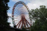 Ferris wheel of the Spree Park