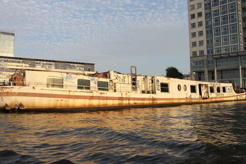 Altes Boat in der Spree