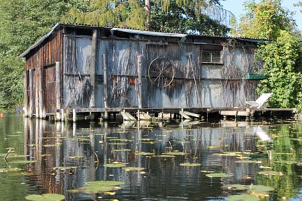 Boathouse in New Venice