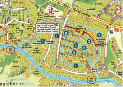 Use plan of Berlin New Venice